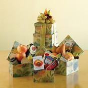 Fruity Delights Tower of Treats Gift Tower Basket
