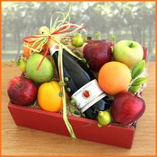 Awesome Organics Fruit Basket