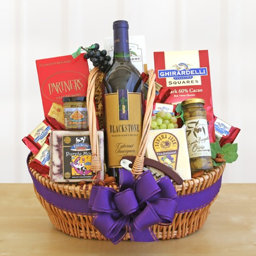 Picnic Joy Wine Gift Basket
