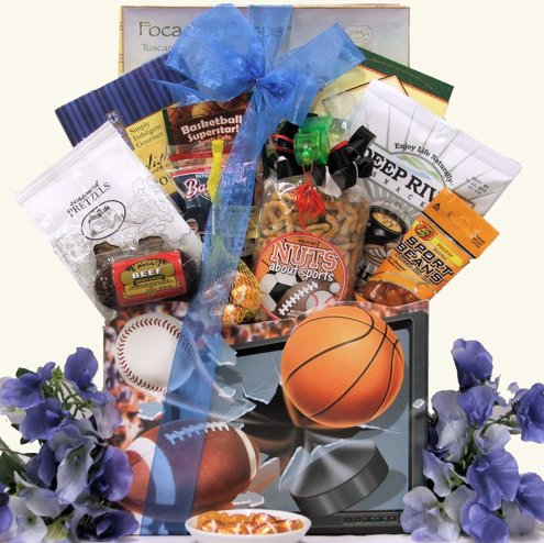 Mr. Sporty Gourmet Snack Gift Basket