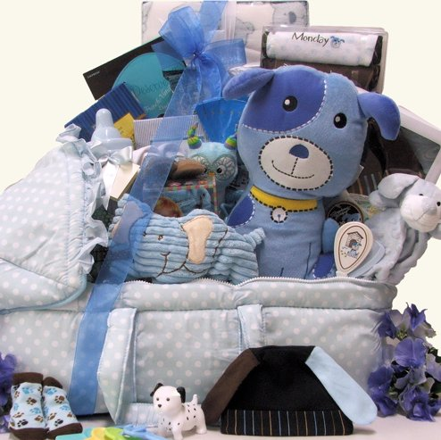 The Best Big Wishes Baby Boys Gift Basket