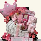 A Princess Is Born Baby Girls Gift Basket