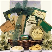 Cheese and Pleasing Gourmet Foods Gift Basket