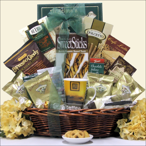 Just Java Gourmet Coffee Gift Basket ~ Large Size