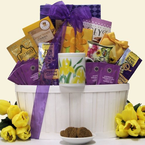 Coffee & Tea Connaisseur Mother's Day Gourmet Gift Basket