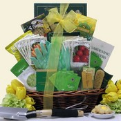 Garden and Tea Gardening Gift Basket