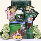 Great Golfers Teeing It Up Golf Gift Basket