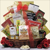 Elite Snackers Gourmet Foods Gift Basket