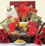 Morning Sunshine Gourmet Coffee & Goodies Gift Basket