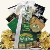 Thanks A Million Thank ~ You Gift Basket