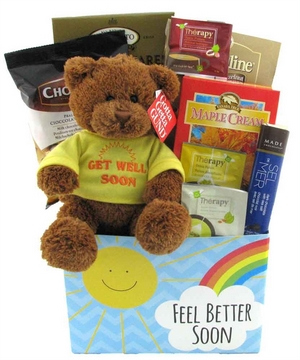 A Beary Get Well Basket
