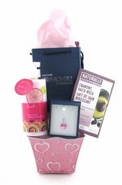 Butterflies Are Free Mother's Day Gift Basket