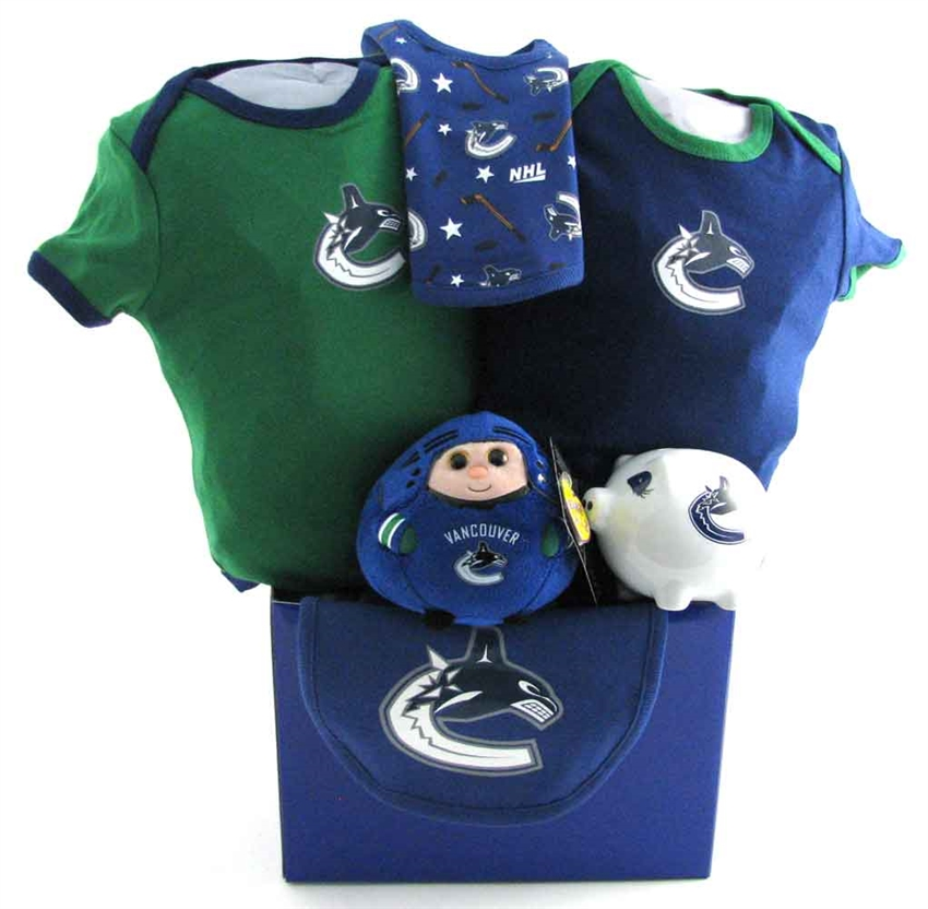 Vancouver Canucks Hockey Bear Gift