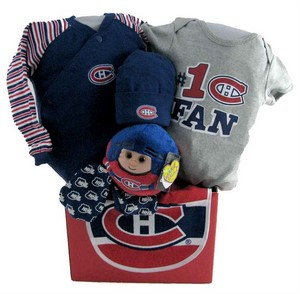Montreal Canadians Hockey Team Basket