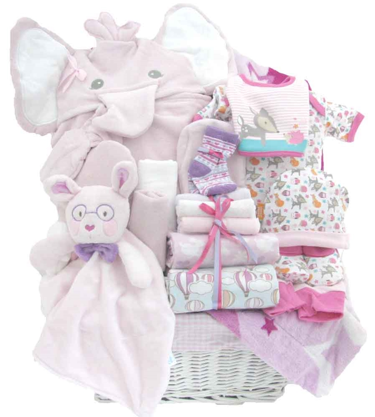 Elfie Elephant Bath Set