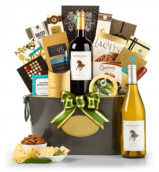 Gourmet Retreat Red Wine Gift