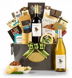 Gourmet Retreat White Wine Gift