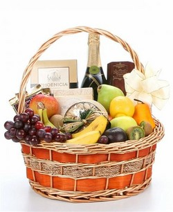 Champagne & Fruit Gift ~ NEXT DAY DELIVERY