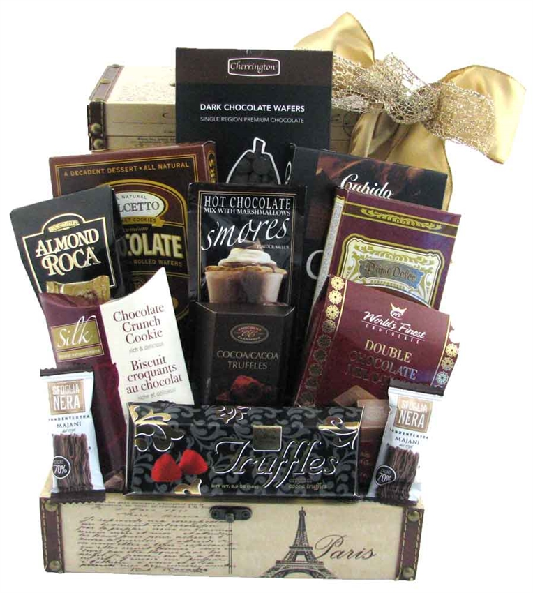 Blissful Chocolate Gourmet Gift Basket