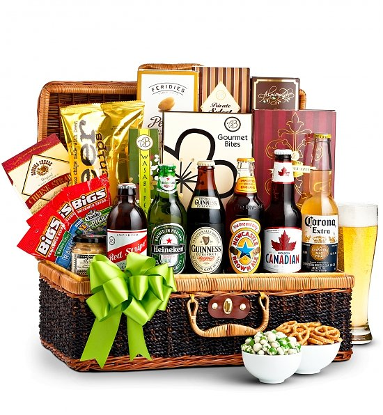 Beers Of The World Gift Basket