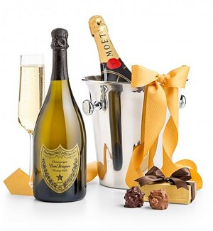 Dom Perignon Champagne Treats for Two