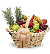 First Class Fruit Gourmet Gift Basket