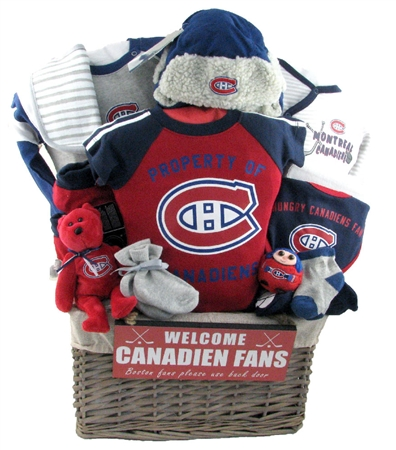 Montreal Canadians Baby Gift ~ DELUXE