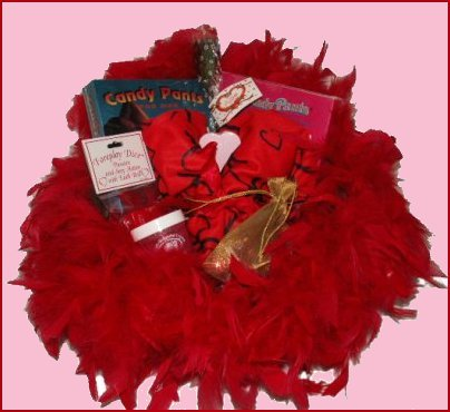 Lovers XOXO Adult Fun Gift Basket
