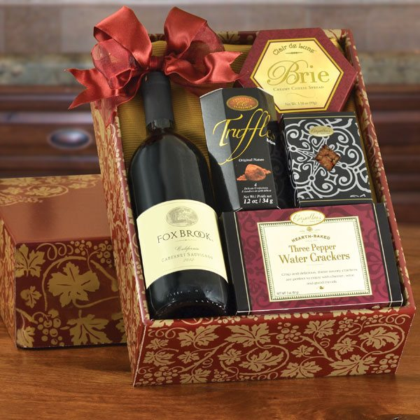 Foxbrook Red Gift Box