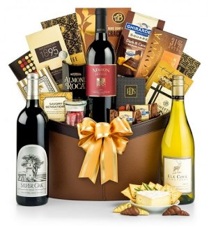 Multiple Wine Bottle Gift Baskets USA