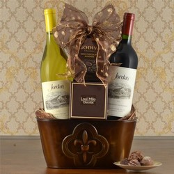 2 Bottles Wine Baskets USA